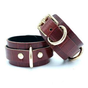 "Cuffs ""Zina"" Red"