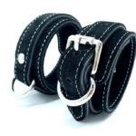Cuffs Suede Black