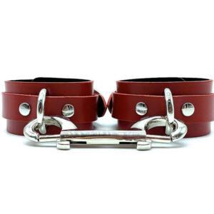 "Cuffs ""Mona"" Red"