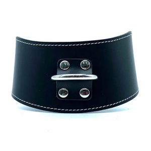 "Curved Collar ""Tango"" Black"
