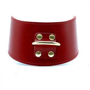 """Curved Collar """"Tango"""" Red"""