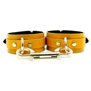 """Cuffs """"Mona"""" Yellow"""