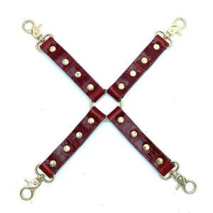 "Hog-tie Connector ""Zina"" Red"