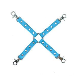 """Hog-tie Connector """"Vienna"""" Baby Blue"""