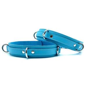 """Thigh Cuffs """"Vienna"""" Baby Blue"""